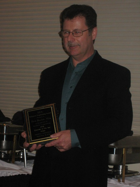 Kevin Boychuk from Mosaic, 2012 SES Engineer of the Year